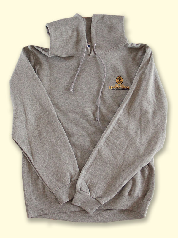 HRW Pullover Hoodie: Gray