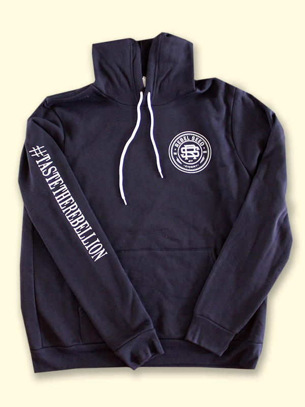 RS Pullover Hoodie: Navy